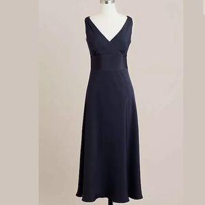 J CREW Sophia Sheath Dress in Silk Tricotine Sz 14